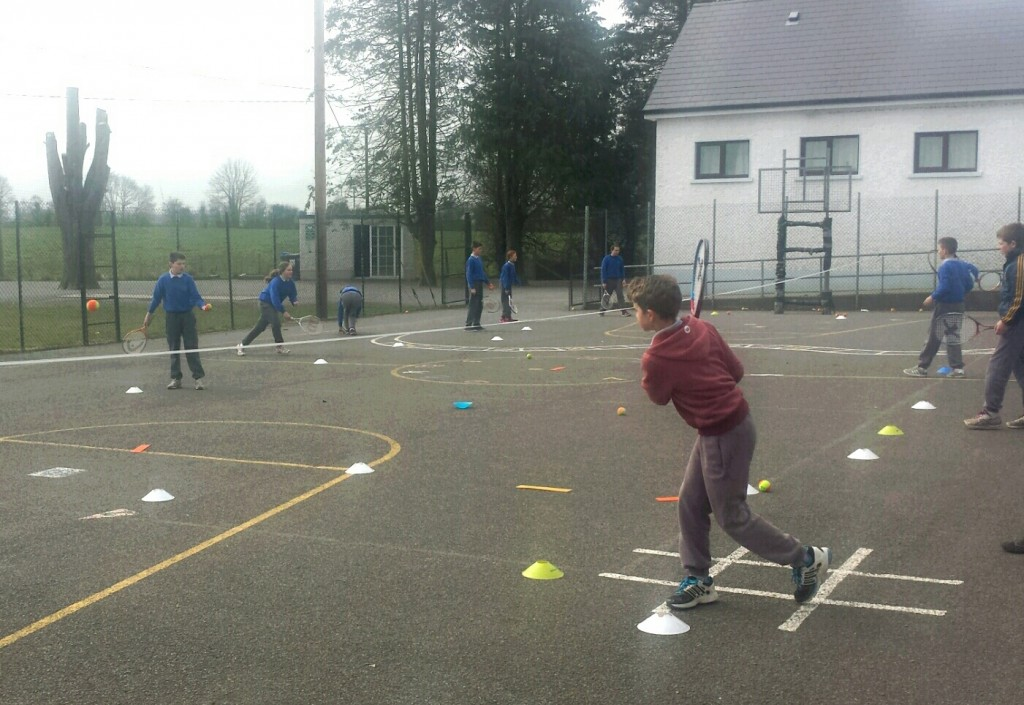 Tennis Lessons 6th Class